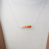 Mexican Fire Opal Necklace