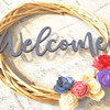 Welcome Wood Flower Wreath Workshop: Sunday, 4/5 @ Noon