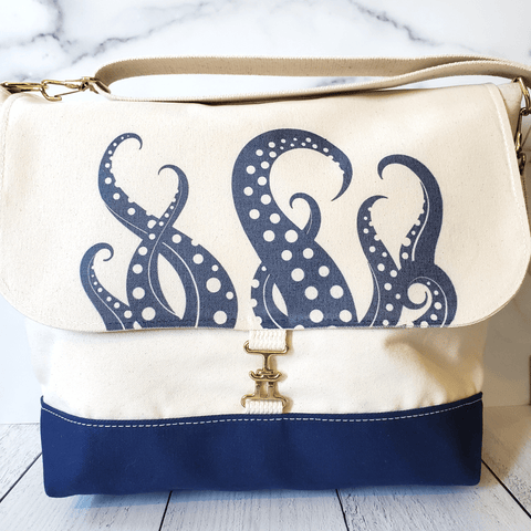 Sea Tentacles Canvas Tote, Switchtotes