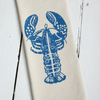 Maine Lobster Tea Towel- Blue