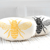 Honeybee Pillow- Black