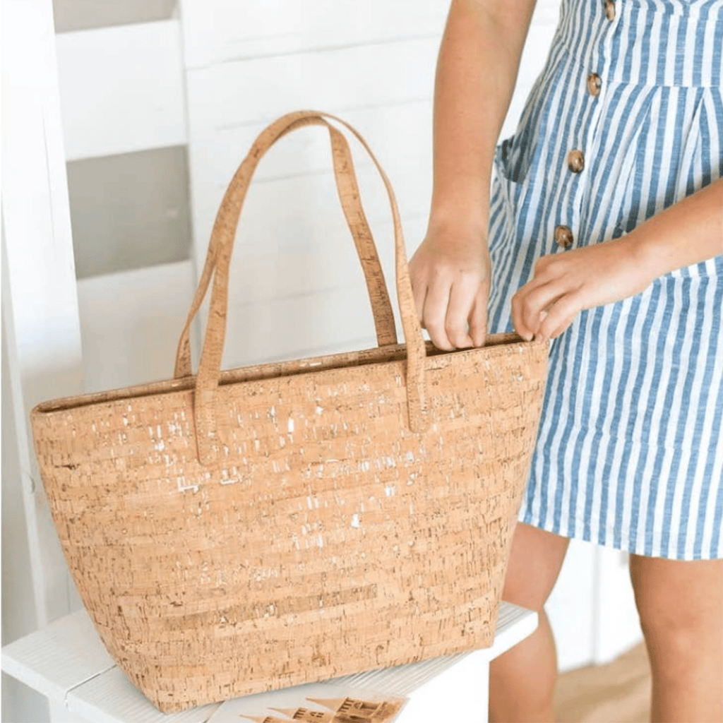 Natural Cork Tote