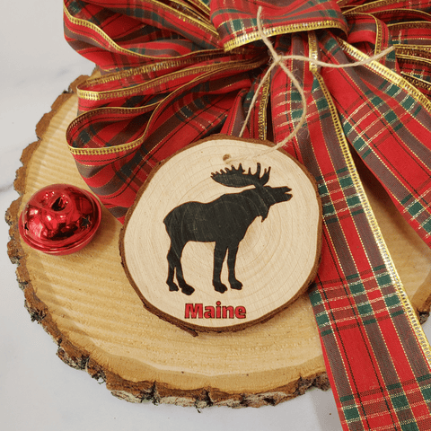 Maine Moose Ornament
