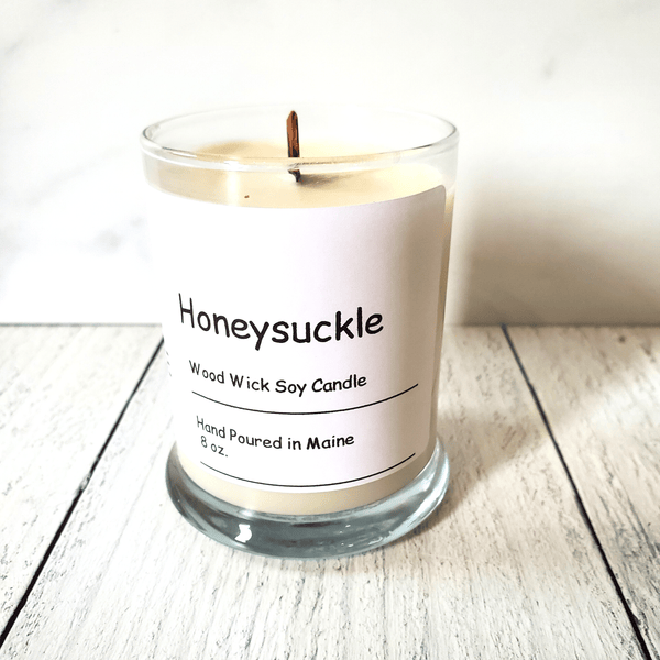 Candle, Honeysuckle