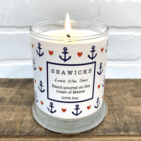 Candle, Love The Sea, Seawicks, 9oz