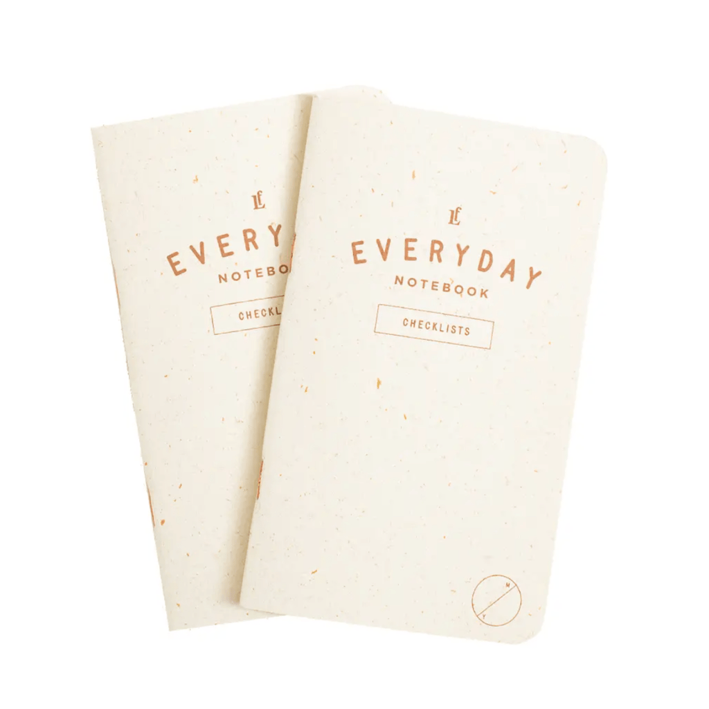 Everyday Checklists Pocket  Notebook 2-Pack