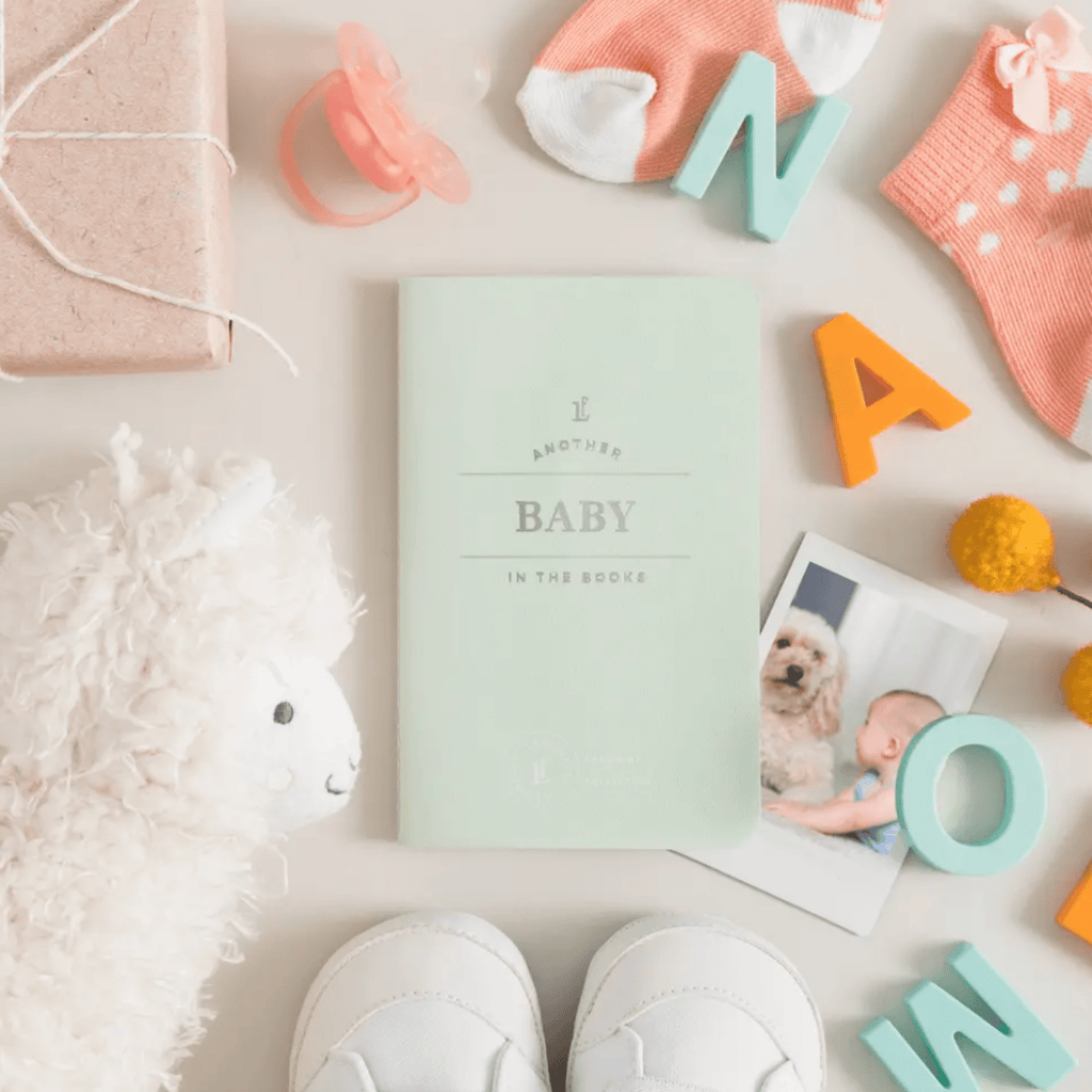 Baby Pocket Passport Notebook Letterpress
