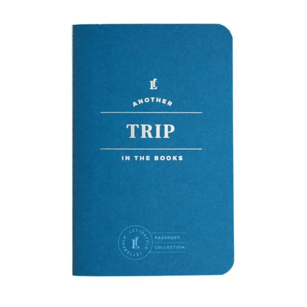 Trip Pocket Passport Notebook Letterpress