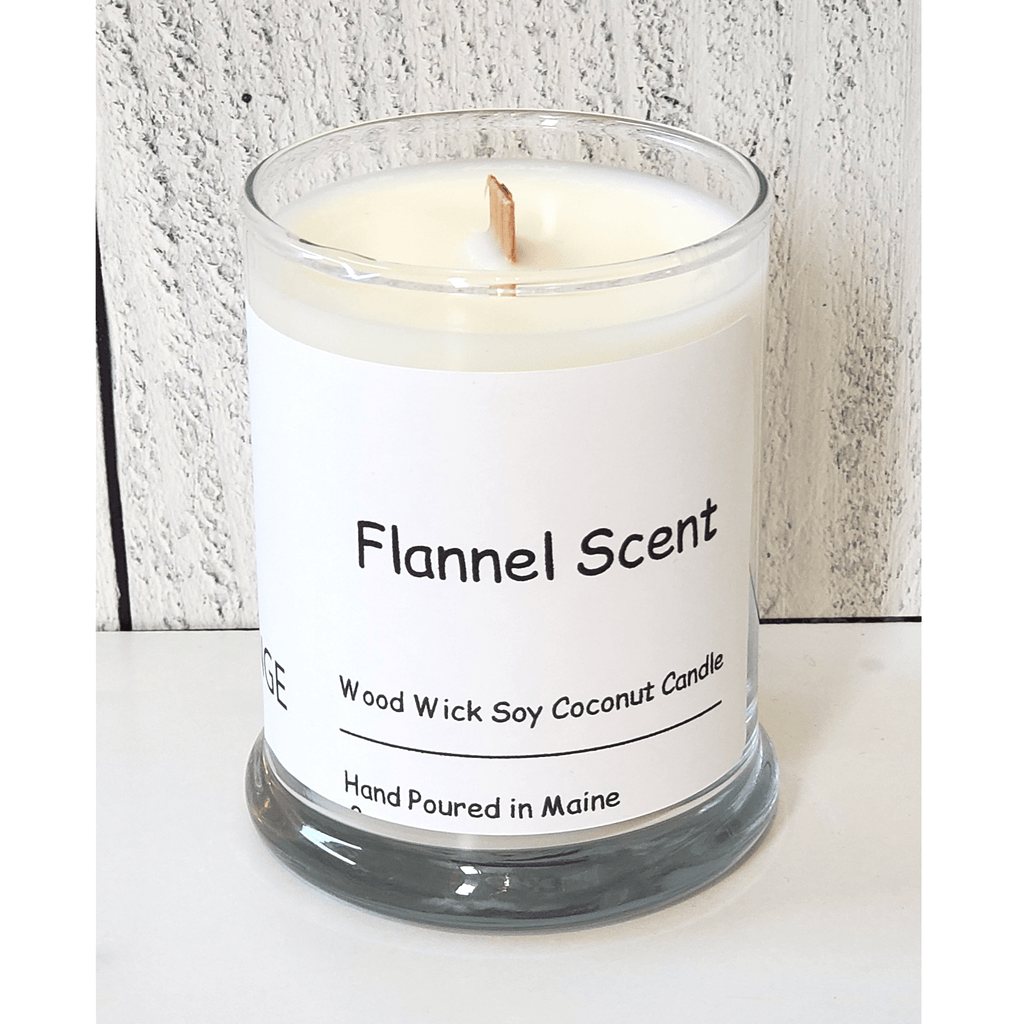 Flannel Wood Wick Candle