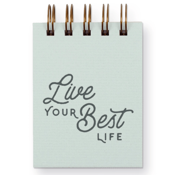 Mini Notepad- Live Your Best Life