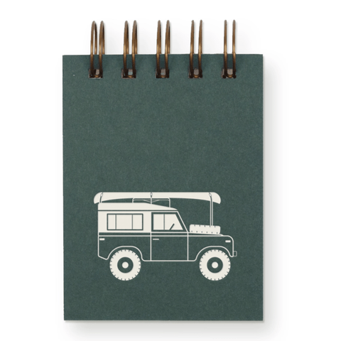 Off Road Mini Notepad