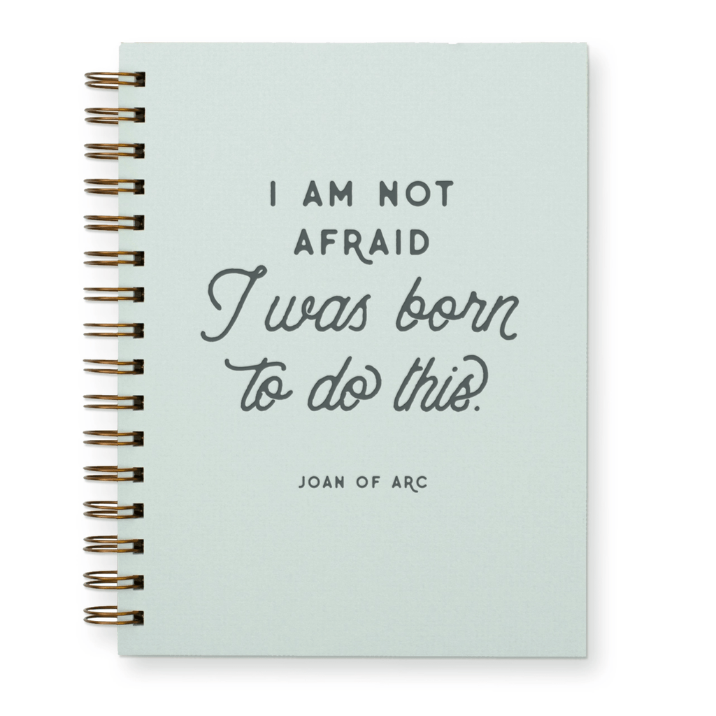 I am Not Afraid Lined Notebook
