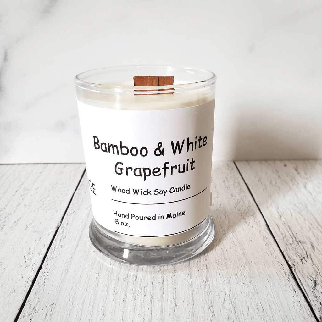 Candle, Bamboo & White Grapefruit