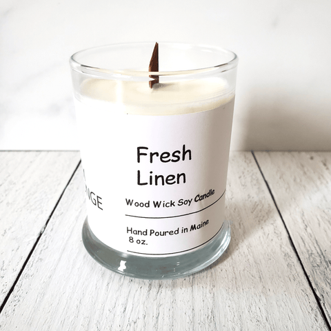 Candle, Fresh Linen
