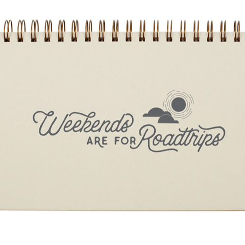 Weekly Planner- Weekend Roadtrips