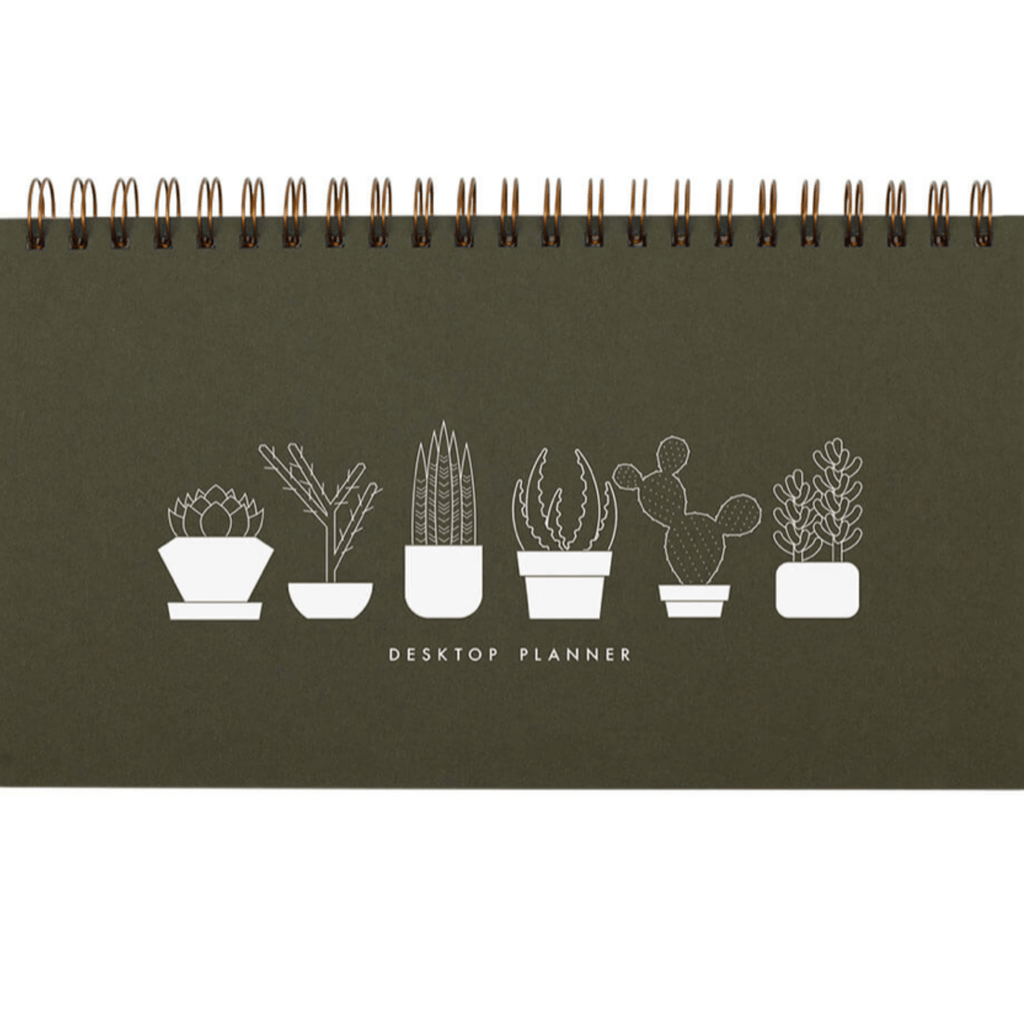 Weekly Planner- Succulent