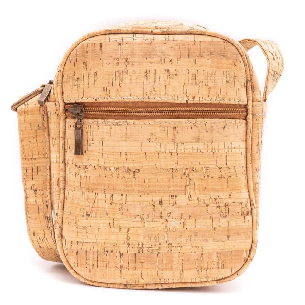 Natural Cork Adjustable Crossbody Unisex