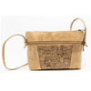 Wood Grain Checkered Cork, Medium Messenger Bag
