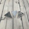 Druzy Triangle Necklace Jewelry Making Class: Sunday, 10/13/19 4pm