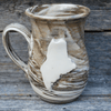 Mug, Pottery, Maine, Tan/Brown