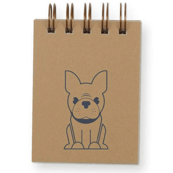 Frenchie Mini Notepad