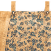 Blue Floral Cork Large Tote