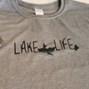 Lake Life T-Shirt, Heather Green