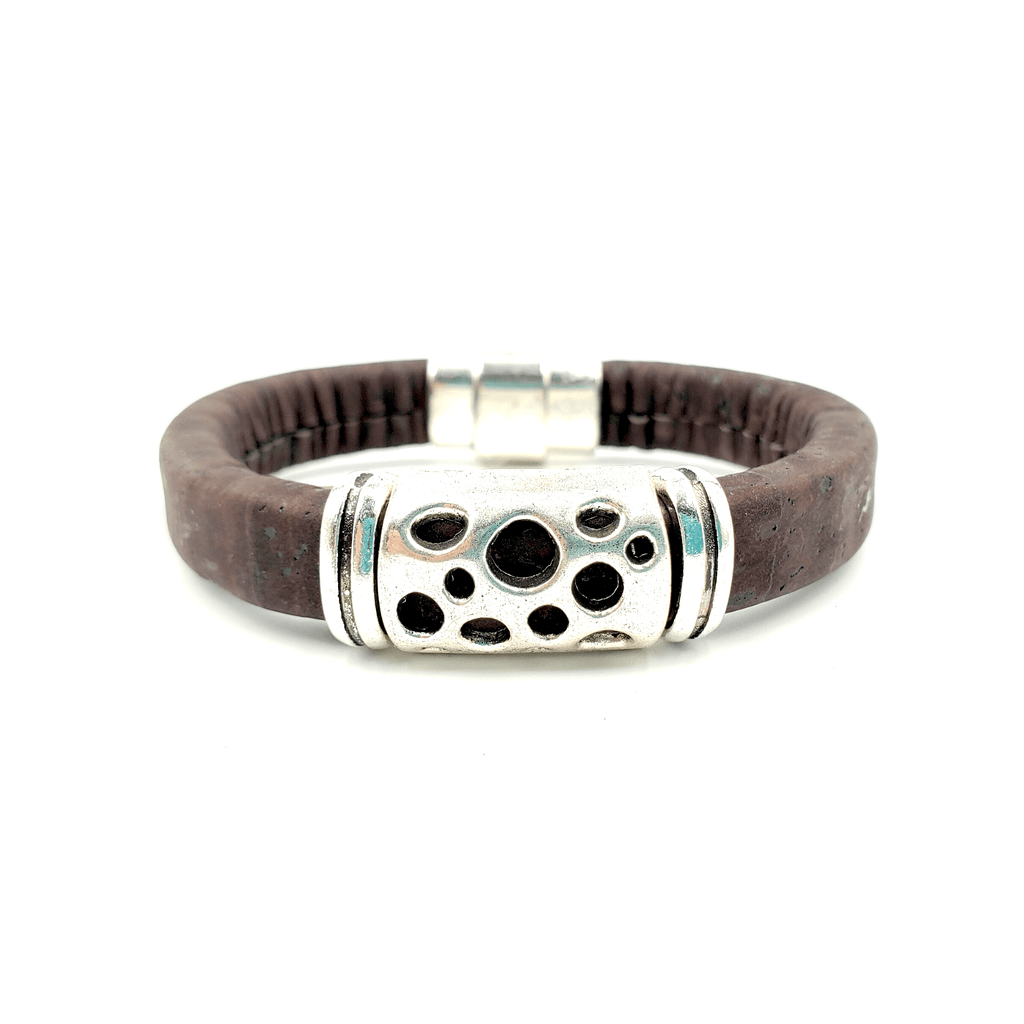 Brown Cork Hole Bracelet