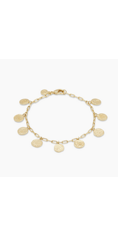 Ana Coin Bracelet-Sea Biscuit Del Mar