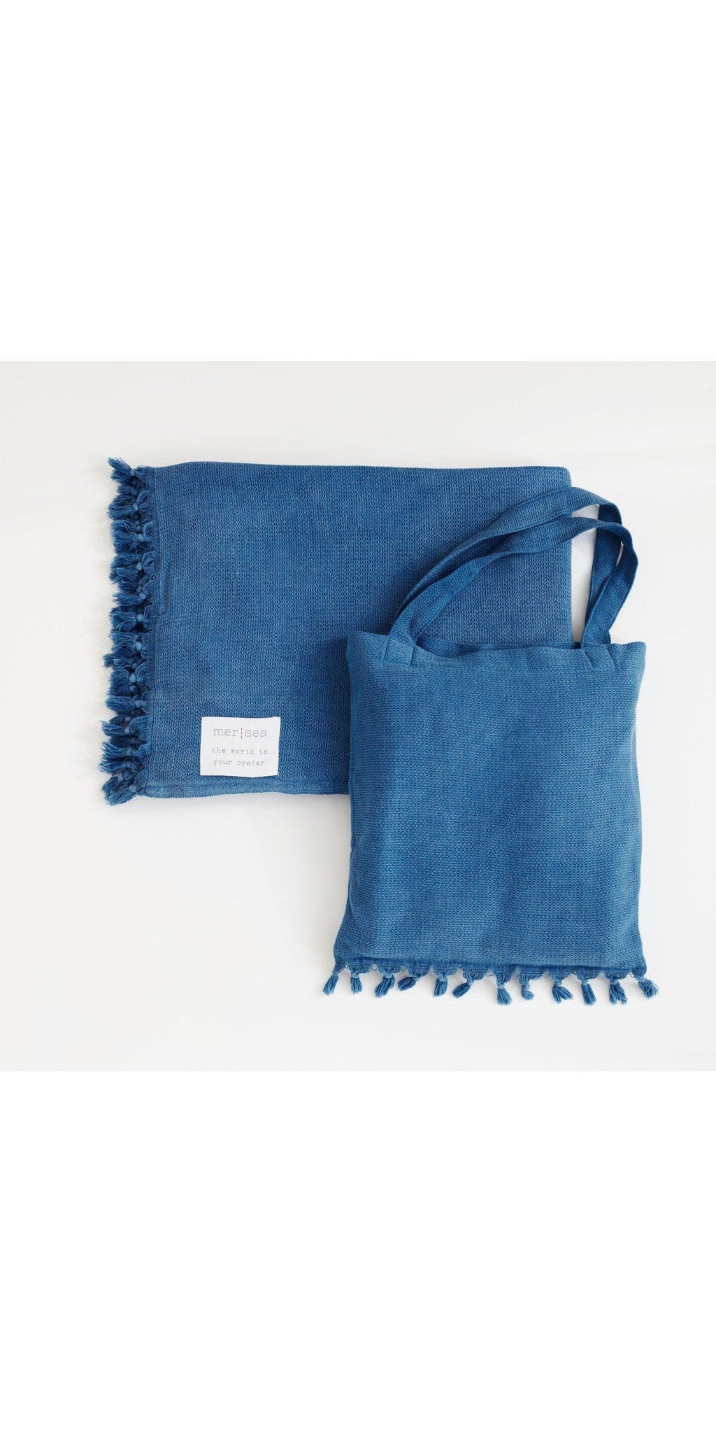 Beach Blanket With Tote-Sea Biscuit Del Mar