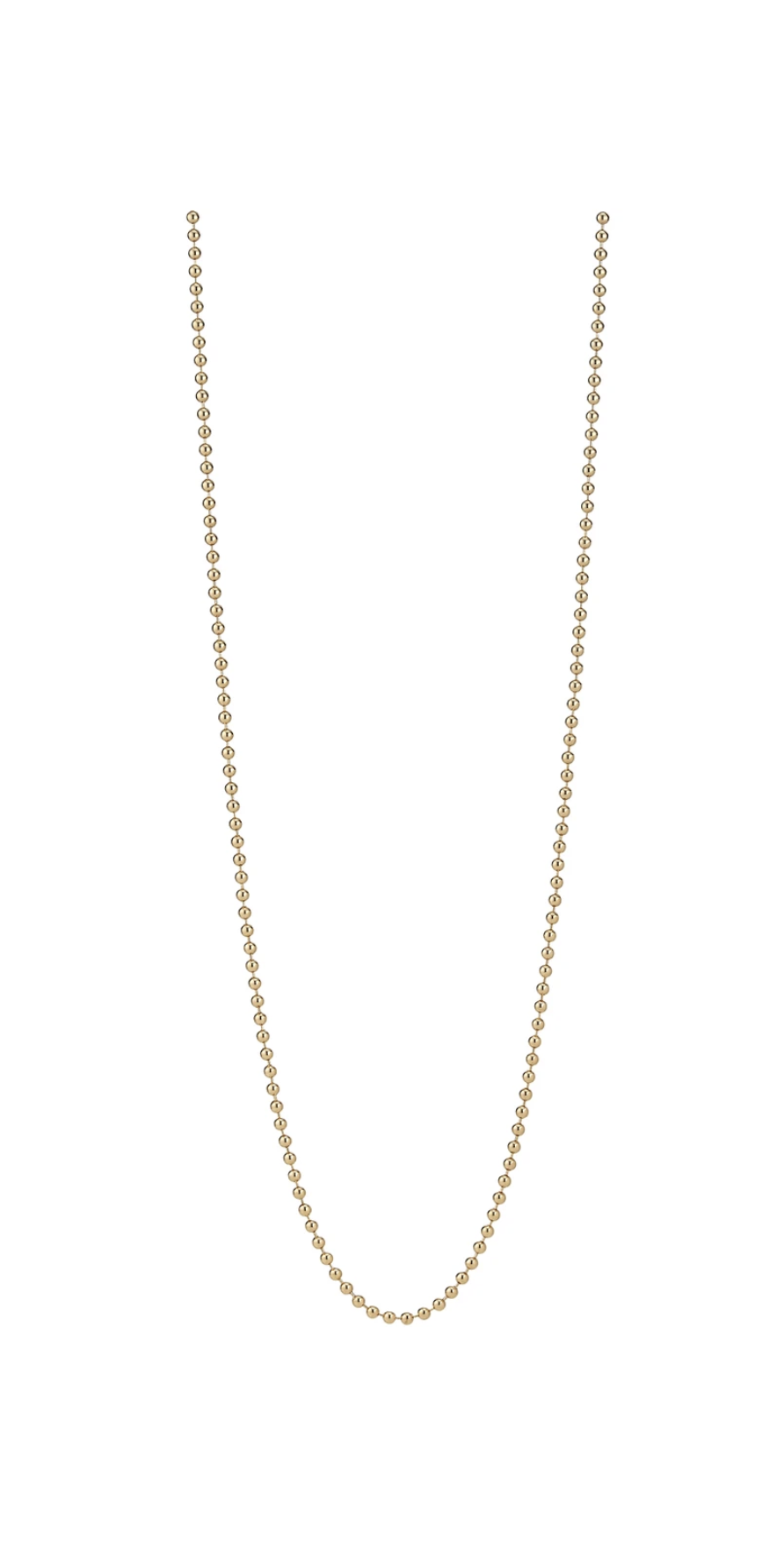 "Beaded Chain - 16""-Sea Biscuit Del Mar"