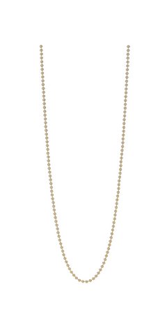 "Beaded Chain - 30""-Sea Biscuit Del Mar"