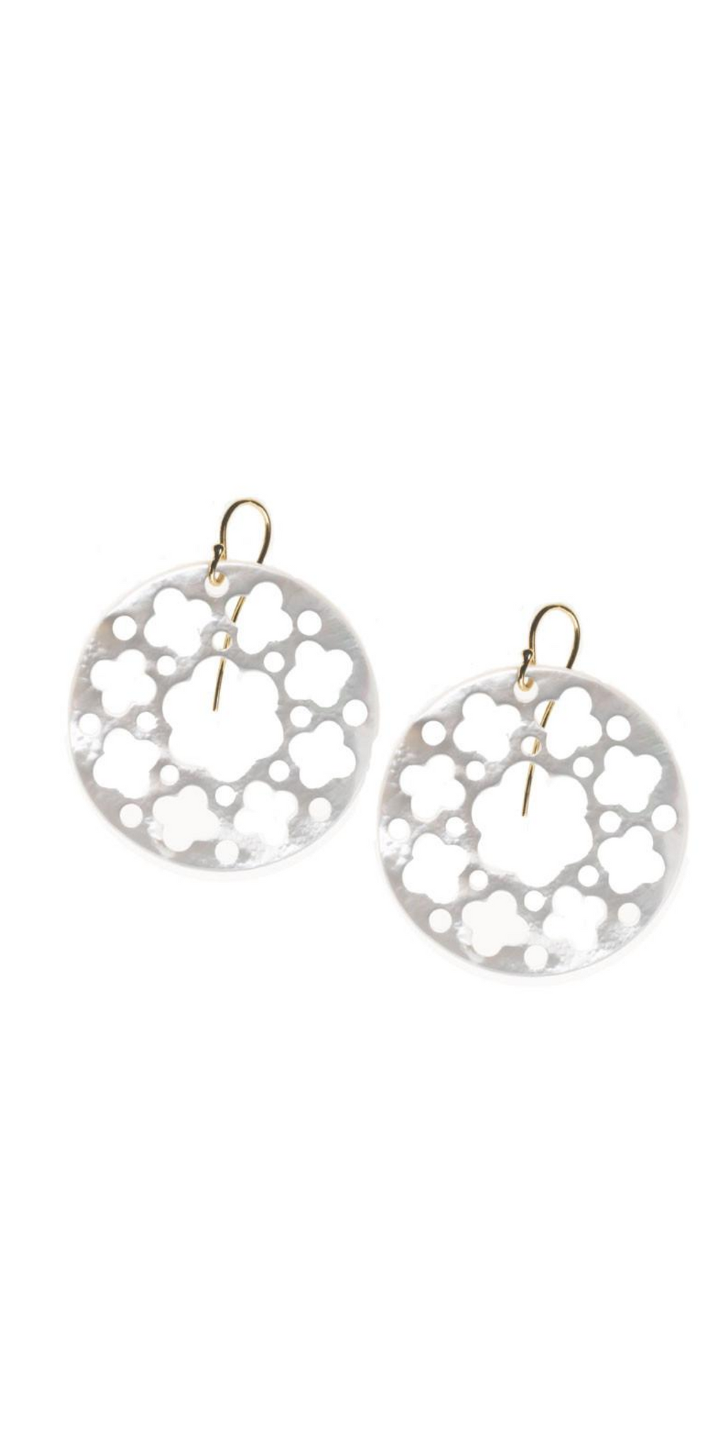 Carlotta Earring-Sea Biscuit Del Mar