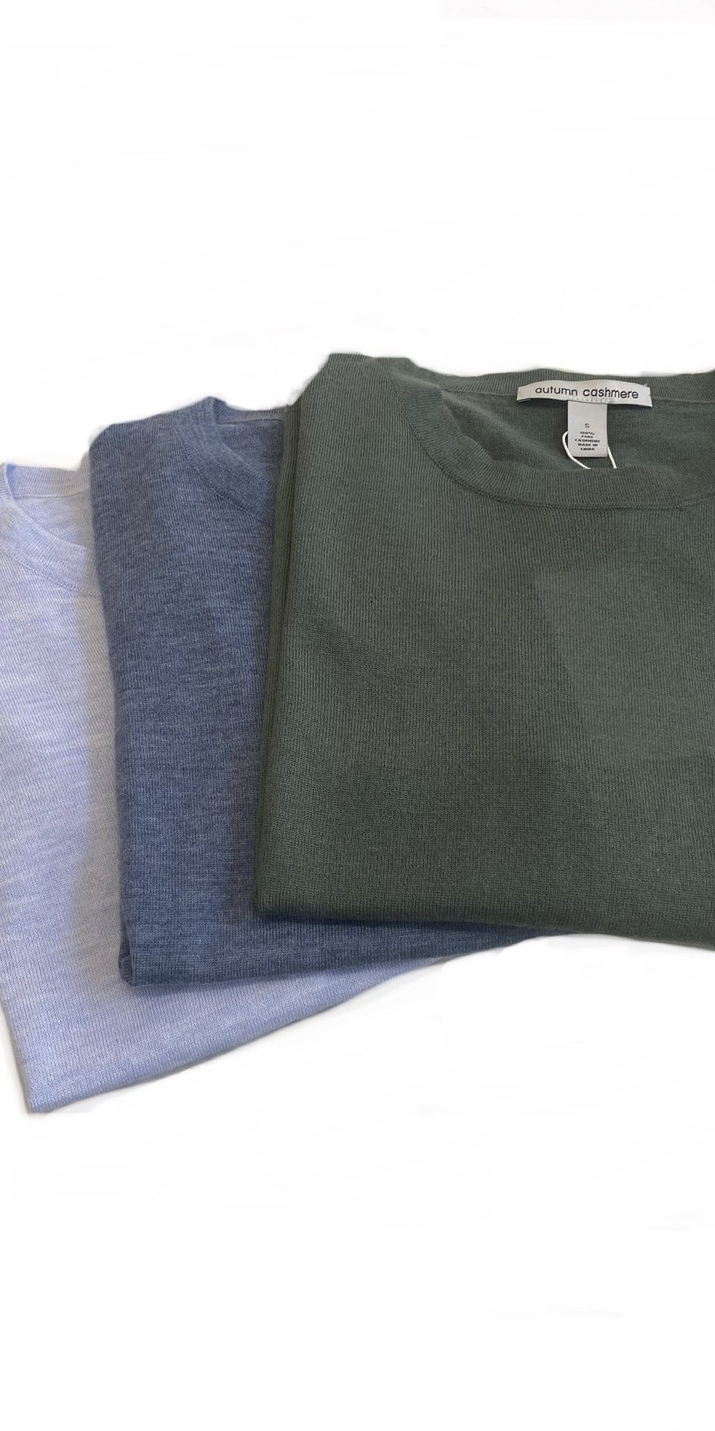 Cashmere Pocket Tee-Sea Biscuit Del Mar