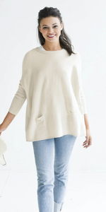 Catalina Sweater - Sand-Sea Biscuit Del Mar
