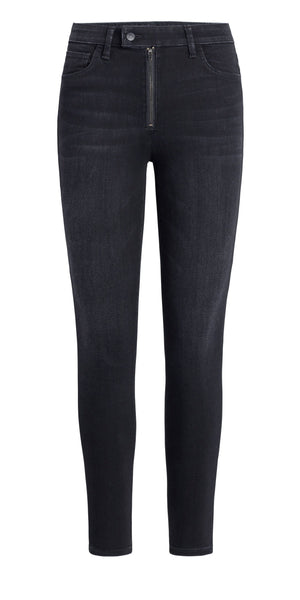 Charlie Ankle - High Rise Skinny Zipperfly - Estrada-Sea Biscuit Del Mar