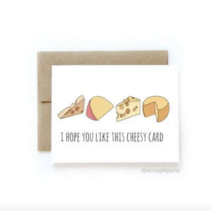 Cheesy Card-Sea Biscuit Del Mar