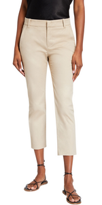 Coin Pocket Chino Pant - Latte-Sea Biscuit Del Mar