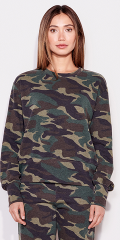 Dark Camo Sweatshirt-Sea Biscuit Del Mar