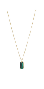 Griffin Gem Dog Tag - Green-Sea Biscuit Del Mar