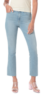 Hi Honey Crop - High Rise Bootcut - Chloe-Sea Biscuit Del Mar