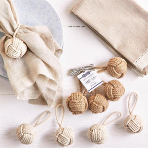Knot-ical Napkin Rings-Sea Biscuit Del Mar