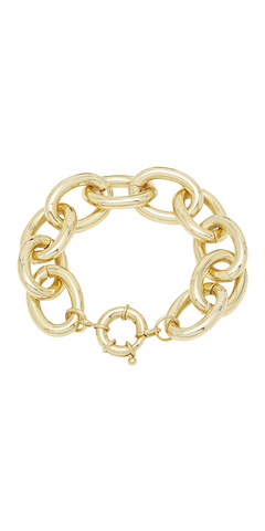 Lou Statement Bracelet-Sea Biscuit Del Mar