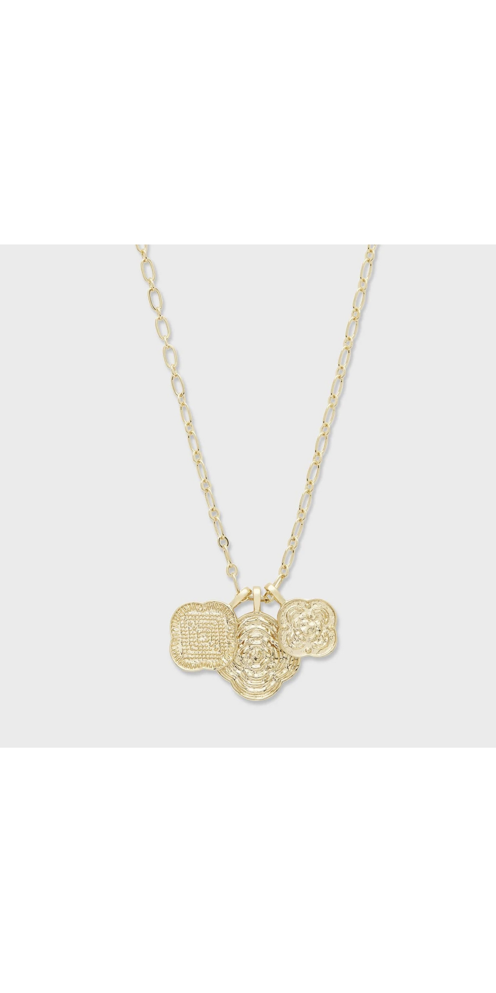 Maya Mixed Coin Necklace-Sea Biscuit Del Mar