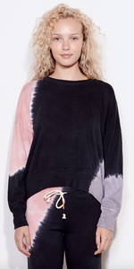 Oversized Tie Dye Sweatshirt-Sea Biscuit Del Mar