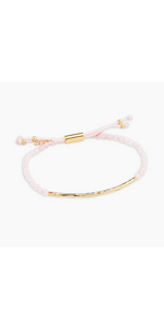 Power Gemstone Bracelet for Love - Rose Quartz-Sea Biscuit Del Mar