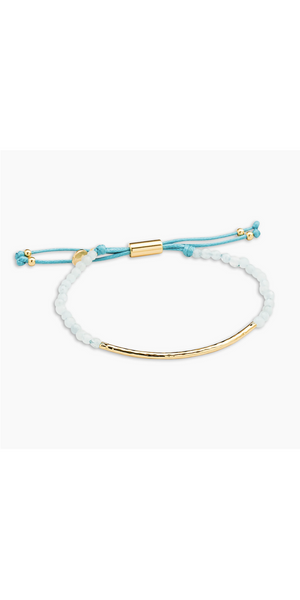 Power Gemstone Bracelet for Truth - Aquamarine-Sea Biscuit Del Mar