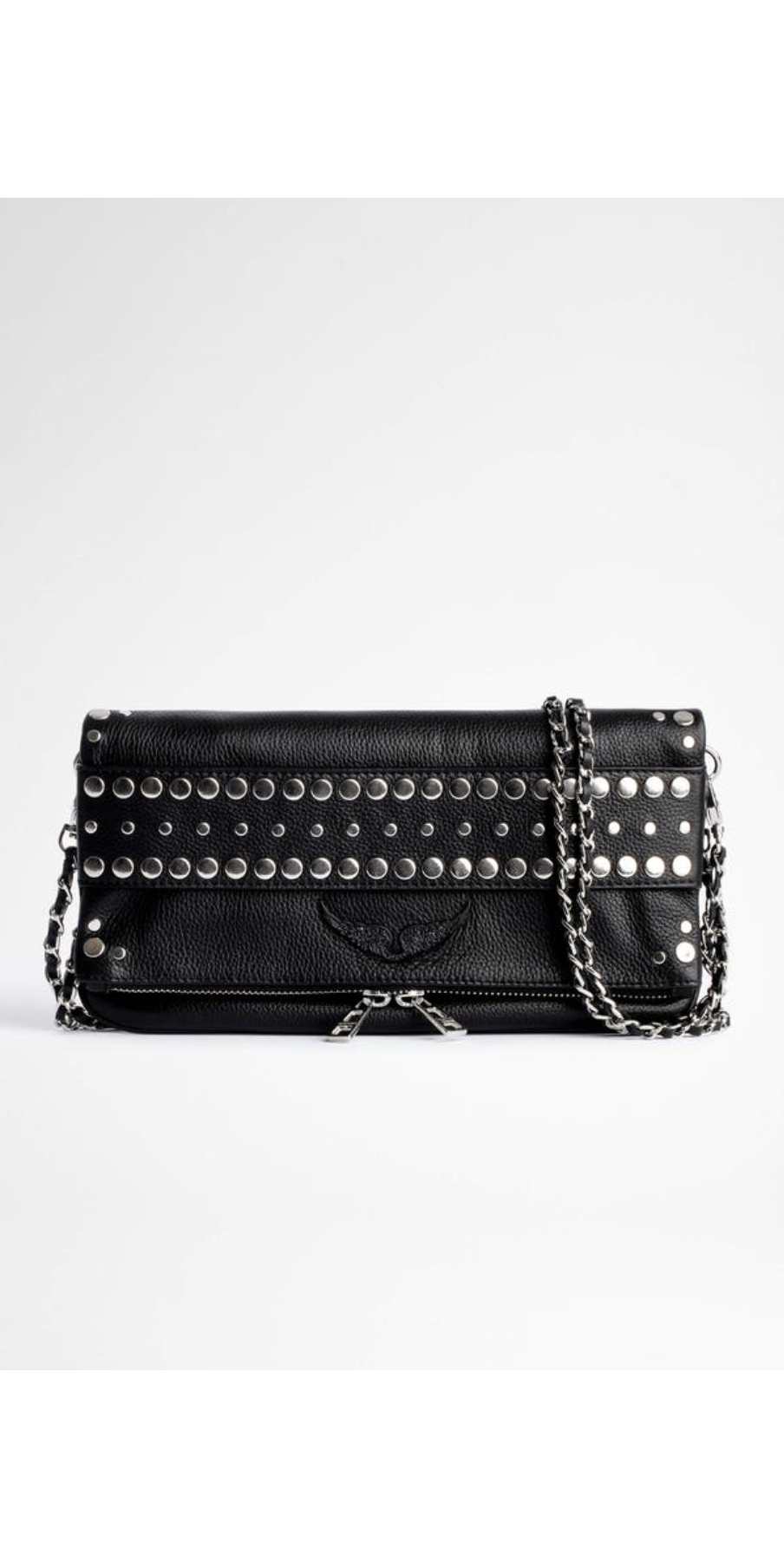 Rock Studs Outline Clutch-Sea Biscuit Del Mar