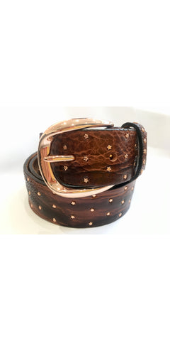 Rose Gold Stars Belt-Sea Biscuit Del Mar
