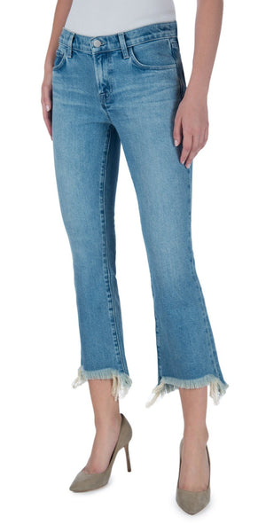 Selena Mid-Rise Crop Boot Cut - Valley-Sea Biscuit Del Mar
